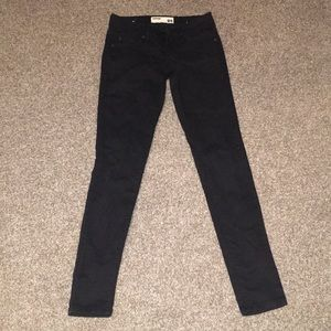Garage black skinny jeans
